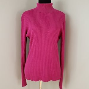 Chico's Ribbed Knit Turtleneck